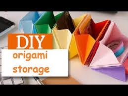 Origami Desk Organizer Diy Origami Desk Organizer