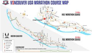 Boston Marathon Route Map by Best Marathons In Washington U2013 Runner U0027s Choose Washington U0027s Top