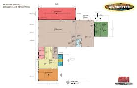 volunteer fire station floor plans remodeling of the emergency services town hall building town of