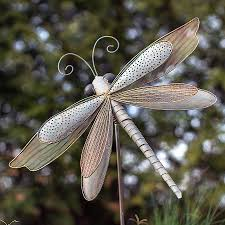 iron dragonfly garden ornament from jackson perkins