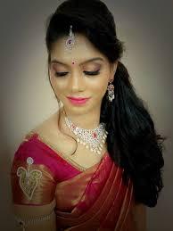 Reception Sarees For Indian Weddings Bridal Hairstyles For Wedding Reception Indian Bridal Hairstyles
