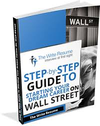 Write Resume Investment Banking Resumes Wall Street Resumes Thewriteresume