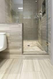modern master bathroom with artistic tile vestige cloud chevron