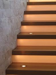 Stair Lighting Stair Lighting Ideas Staircase Contemporary With Step Lighting