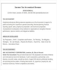 Tax Preparer Resume Sample by 21 Accountant Resume Templates Download Free U0026 Premium Templates