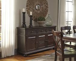 solid pine dining room server by signature design by ashley wolf