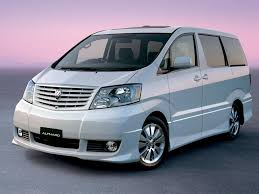 toyota vans future nostalgic toyota alphard king of vip vans japanese