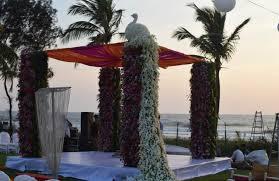 Peacock Themed Wedding Peacock Themed Wedding At Ramada Caravela Beach Resort My
