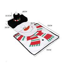 aliexpress com buy christmas decoration for home santa toilet