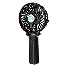 hand held battery fan hebey mini handheld fan versatile personal amazon co uk electronics