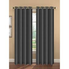 Extra Wide Thermal Curtains Bella Luna Blackout Maya Woven Blackout 108 In W X 84 In L