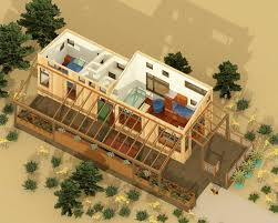 House Plans With Outdoor Living Space Tiny Beach House Plan With Outdoor Living 490000rsk