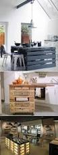 how to build a kitchen island from wood shipping pallets