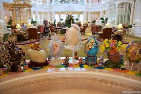 easter egg display photos the 2014 grand floridian resort easter egg display