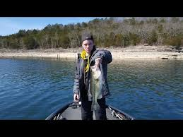 table rock lake fishing report table rock lake video fishing report march 20 2017 youtube
