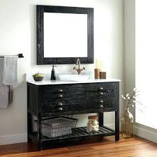 Reclaimed Wood Bathroom Mirror Metal Sideboard Cabinet Rustic Reclaimed Wood Industrial Living