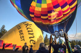 balloon delivery spokane valleyfest takes flight for 27th year the spokesman review