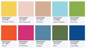 summer colors spring colors of pantone spring summer 2017 estylebuzz