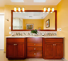 mirrors with lights powder room contemporary with cove lighting