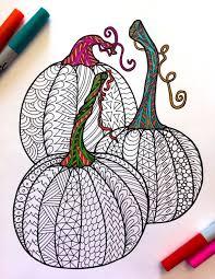 zen patterns coloring pages 3 pumpkins pdf zentangle coloring page pdf doodles and zentangles