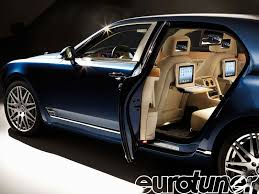 bentley door bentley mulsanne executive interior theatre and ipad eurotuner