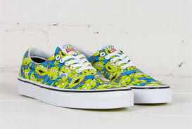 disney vans toy story alien green era skateboard shoes xh37