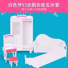 accessoire canapé nouveau 5 pièces princesse pour meubles ensembles maison