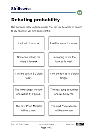 worksheet on probability free worksheets library download and
