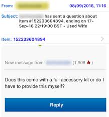 Kitchen Islands For Sale Ebay Husband Puts His Wife Up For Sale On Ebay For Her U0027good Bodywork