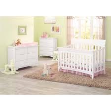 Storkcraft Princess 4 In 1 Fixed Side Convertible Crib White by Delta Children Madrid 4 In 1 Fixed Side Convertible Crib Choose
