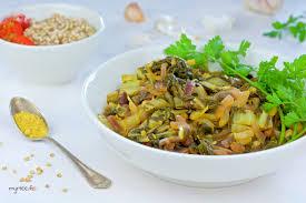 cuisiner les feuilles de blettes des feuilles de blettes au curry vegan myrtee fr