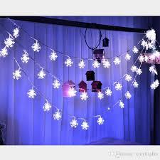 cheap 0 06w led snowflake lights trees decorative