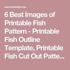 the 25 best fish outline ideas on pinterest rainbow fish book