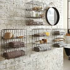 small bathroom shelving ideas wooden rack wall mounted for small