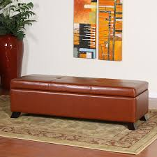 shop best selling home decor cambridge saddle brown faux leather