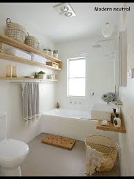 Storage Idea For Small Bathroom by Modern Neutral Bathroom From Better Homes And Gardens Australia