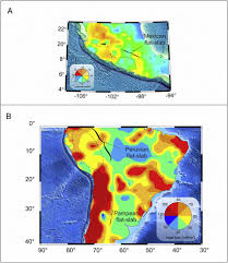 map central mexico a heat flow map of central mexico based on spectral analysis of