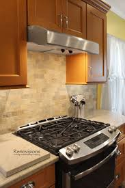 Kitchen Stone Backsplash 240 Best Kitchen Renovisions Images On Pinterest Cabinet Storage