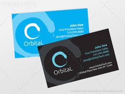 2 horizontal business card eps templates by mark shear in print
