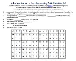 image of poland worksheet best free worksheets for kids