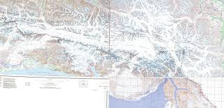 Hoonah Alaska Map by Elevation Map Of Yakutat Ak Usa Maplogs