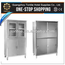 Upright Storage Cabinet Hotel Restaurant Kitchen Equipments Stainless Steel Upright