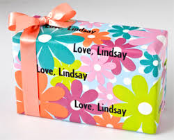 personalized gift wrapping paper personalized gift wrap gift wrapping paper favor