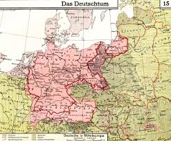 Map Eastern Europe A 1930 German Map Of Ethnic Germans In Central And Eastern Europe