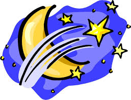 clipart stars and moon collection