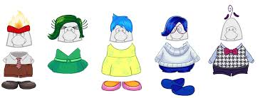 Inside Out Costumes Club Penguin Inside Out Party Emotion Costumes Sneak Peek Club