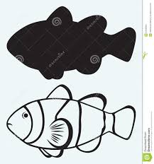 tropical fish silhouette clipart panda free clipart images
