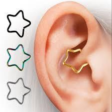 ear piercing hoop aliexpress buy surgical steel shape helix tragus