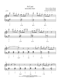 I Rather Go Blind Lyrics Etta James At Last By Etta James Piano Sheet Music Intermediate Level