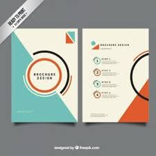 creative brochure templates free 34 best brochures project research images on